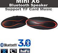 X6 MiNi Football Wireless Bluetooth Speaker Portable Audio Player Music Speaker with TF Mic Samsung Note4/S6