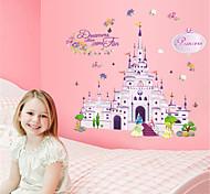 Fancy Castle PVC Wall Stickers Wall Art Decals