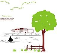 alberi e adesivi fluviali