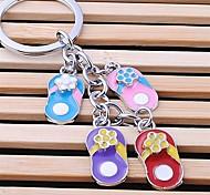 unisexe en alliage porte-clés bascules porte-clés