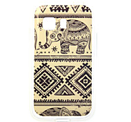 Elephant Painting TPU Case for Samsung Galaxy Young 2 G130