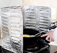 Water Resisting Kitchen Oil Aluminum Foil Cooking Baffle Oil Separating Paper 38X78CM
