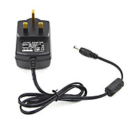 24W 12V 2A AC Power Adapter for LED Light Bulb and Surveillance Security Camera (5.5x2.1mm/100~240V/UK Plug)