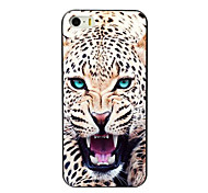 The Leopard Design Aluminum Hard Case for iPhone 5C