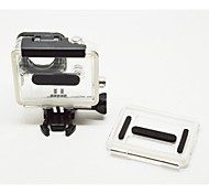 Skeleton Protective Housing, Side-opening & Backdoor w/ hole, for GoPro Hero 3