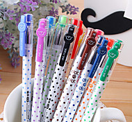 Color Points Clouds 12 Color Pen(1 PCS)(Random Color)