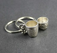 Lovers Alloy Love Cup Key Chain