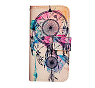 Windmill Pattern PU Leather Case with Stand for Samsung Galaxy A3