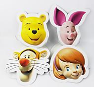 4pcs/lot Disney Mask Party Supplies Kids Happy Birthday Decoration Christmas Event Supplies Party Favor Send Randomly