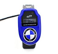 автомобиль mp3 плеер беспроводной передатчик читатель FM модулятор автомобилей hansfree USB / SD / карта с пультом дистанционного
