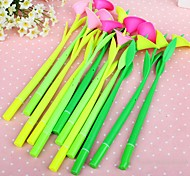 Calla Lilies Style Gel Pen Set(12 PCS/Set)(Random Color)