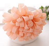 New Korean Fashion Wild Ladies Chiffon Floral Chrysanthemum Hair Ties