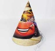 Cars Paper Hat 12pcs