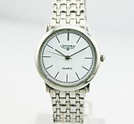 Men's Analog Alloy Case Round Dial Alloy Band Japan Quartz Watch Men's Watch Men Business Watch Gift Watch