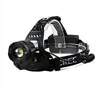 faros t6 Lámpara lámpara resplandor carga caza lámpara de la pesca reflector noche pesca zoom al aire libre