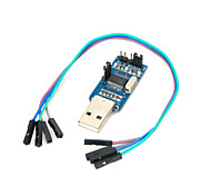 USB-TTL Converting Board - Blue + Silver