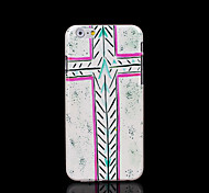 Cross Pattern Cover for iPhone 6 Case