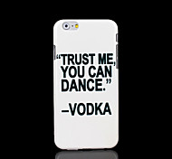 Phrase Pattern Cover for iPhone 6 Plus Case