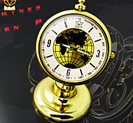 Men's Round Dial Casual Watch Globe Desk Clock Japanese Quartz Watch Cool Watch Unique Watch