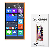 Ultra Thin High Transparency Soft Protective Screen Protector for Nokia Lumia 730