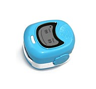 ZHZ Fingertip Pulse Oximeter for Pediatric or Child Use with Neck/Wrist Cord  Alarm Rechargeable Batteries and Charger