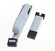 con la auto-recuperación de protección contra la sobretensión USBASP usb 51 microcontrolador AVR downloader isp