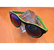 Classical Round Frame Of Small PC Glasses Frame Of Black And Green Sunglasses