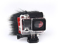 KingMa® BMGP133 Artificial Fur Microphone Windscreen for GoPro 3  3+ GoPro 4