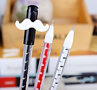 Cute Mustache Style Gel Pen(Random Color)