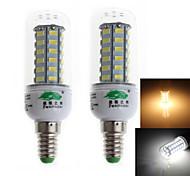 8W E14 Bombillas LED de Mazorca C35 48 SMD 5730 700 lm Blanco Cálido / Blanco Fresco Decorativa AC 100-240 V 2 piezas