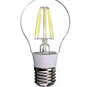 Lámparas LED de Filamento E26/E27 6 W 6 LED de Alta Potencia 480 LM Blanco Fresco AC 85-265 V 1 pieza