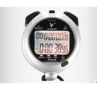 eletrônico cronômetro 2210 duplo 10 memória movimento cronômetro cronômetro