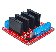 Four Arduino Solid State Relay (Red)