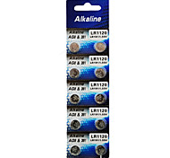 ALKALINE AG8/LR1120/381/191 High Capacity Button  Batteries (10PCS)