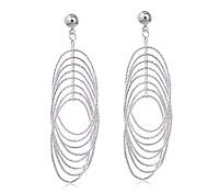 Women's Fashion 18K Silver Plated Earring