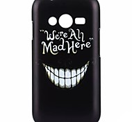 YMX-White teeth Pattern Design Pattern Protective Hard Case for Samsung Galaxy Ace 4 G313H