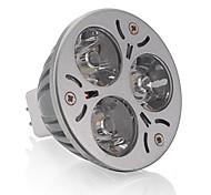 3W GU5.3(MR16) Spot LED MR16 3 LED Haute Puissance 250 lm Blanc Chaud DC 12 V 1 pièce