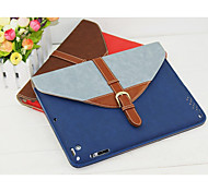 Smart Stand Leather Case Cover with Hard Back Pouches for iPad 2/3/4(Assorted Colors)