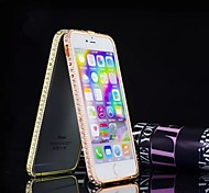 Special Design Fashion High-Grade Luxurious Metal Diamond Bumper Frame for iPhone 6 Plus(Assorted Colors)