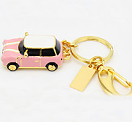 YOUWO Metal Keychain With Cartoon Car Styling 8GB USB Pink Light Blue Red Blue SP0017801