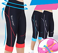 WEST BIKING® Ladies Summer High-elastic Breathable Wicking Comfortable 3/4 Tights Cycling Shorts