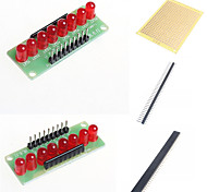 8 LED Marquee Light Water SCM Module and Accessories for Arduino