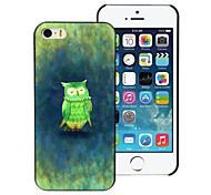 The Owl Design Aluminum Hard Case for iPhone 4/4S