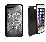 Map Pattern Adventure is Out There Pattern 2in1 Hybrid Armor Full-Body Dual Layer Shock-Protector Slim Case for i6