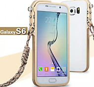 Metal Frame Mobile Phone Protection Shell Cases for Samsung Galaxy S6 (Assorted Colors)
