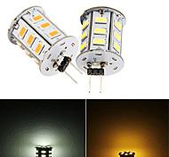2 pcs Ding Yao G4 12W 27X SMD 5730 300-500LM 2700-3500/6000-6500K Warm White/Cool White Bi-pin Lights AC 220V