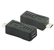 Micro USB 2.0 Male to Female Converter Connector Plug Adapter