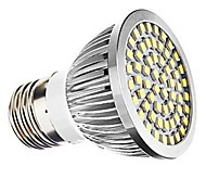 7W E26/E27 Spot LED 60 SMD 2835 700 lm Blanc Chaud / Blanc Naturel Décorative AC 100-240 / AC 110-130 V 1 pièce