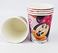 Disney minnie mouse copos filme fontes do partido de papel 50pcs
