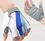 Cycling Gloves Fingerless Outdoor Breathable Cycling Half Finger Gloves 1-Pair